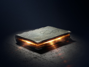 Magic Book with super powers - 3D generated artwork